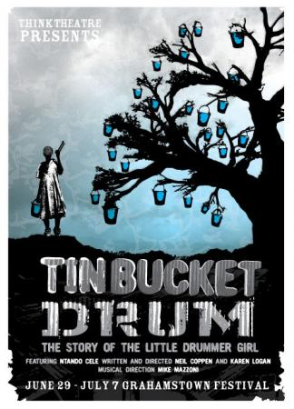 Tin Bucket Drum Poster